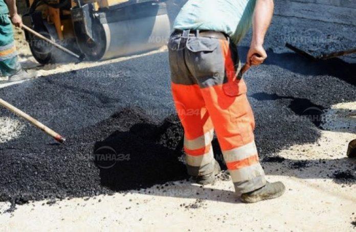 Продължава основният и текущ ремонт на улиците в Монтана