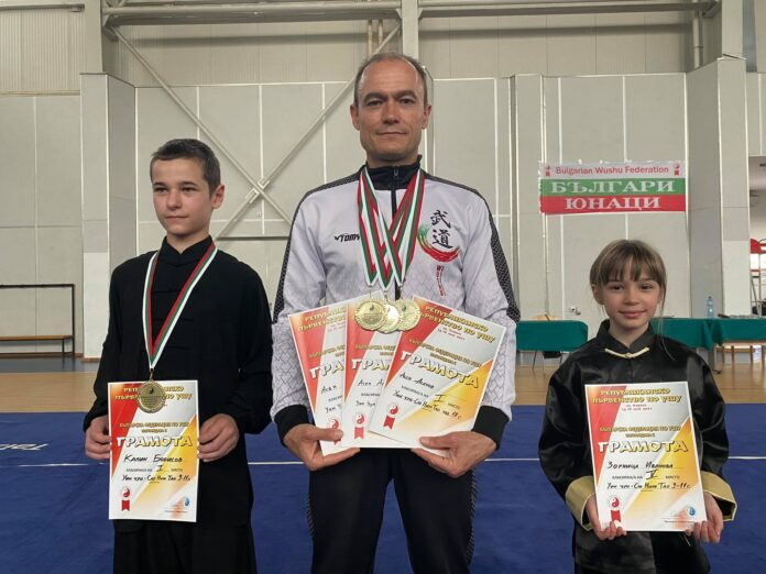 Клубът по Винг чун в Монтана със златни медали от Републиканско първенство по Ушу